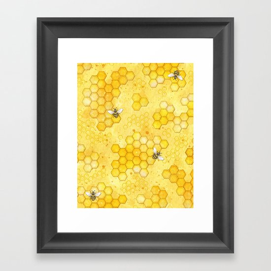 Meant to Bee - Honey Bees Pattern by larkstudios