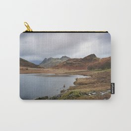 Blea Tarn with Langdale Pikes beyond. Cumbria, UK. Carry-All Pouch