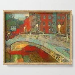 Ha'penny Bridge Dublin Serving Tray