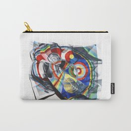 A Delaunay crumpled. Carry-All Pouch