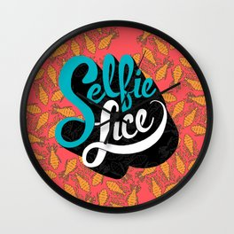 Selfie Lice Wall Clock