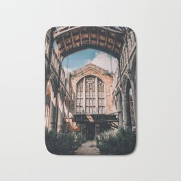 Abandoned Church, Gary IN Bath Mat