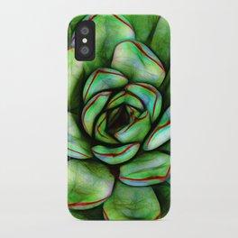 Graphic Succulent iPhone Case