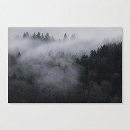 The Sleeping Wood Canvas Print