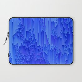 Melted, blue Laptop Sleeve