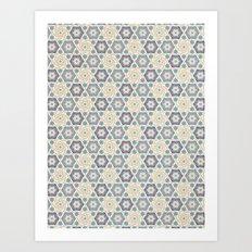 Hilda pattern Art Print