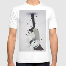 The Hand MEDIUM White Mens Fitted Tee