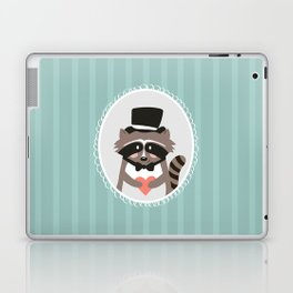 Racoon Heart Robber  Laptop & iPad Skin
