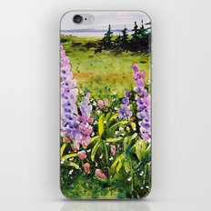 Lupines of Nova Scotia iPhone & iPod Skin