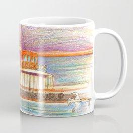 ferry boat Coffee Mug