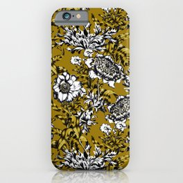 Khaki Garden iPhone Case