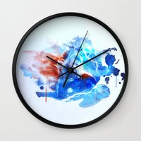thor Wall Clocks featuring Thor by Rose's Creation