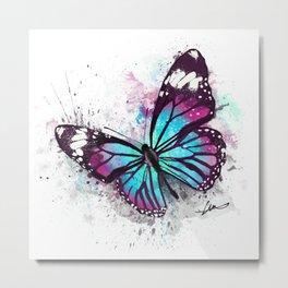 Beautiful Butterfly Artwork Metal Print
