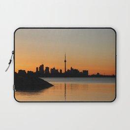 Toronto Sunrise Laptop Sleeve