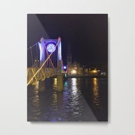 Inverness Bridge Metal Print