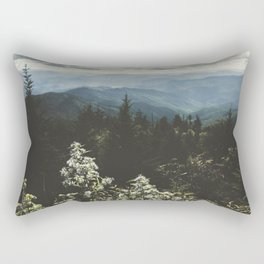 Smoky Mountains - Nature Photography Rectangular Pillow