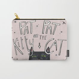 Pat pat on the kitty cat Carry-All Pouch