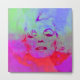 Norma Marylin 2 Metal Print