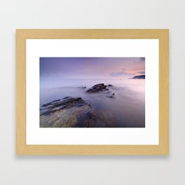 Cabria beach Framed Art Print