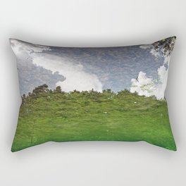 The Sky swims in the lake Rectangular Pillow