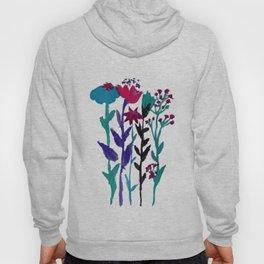 Meadow Flowers Watercolor Hoody