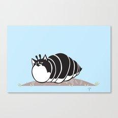 Kittypillar Canvas Print