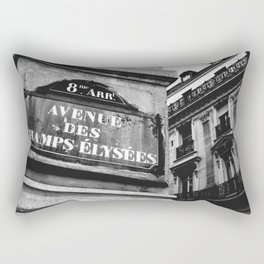 Champs Elysees Rectangular Pillow