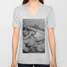 """The Smiths """"I Won't Share You With My Perrier"""" Unisex V-Neck"""