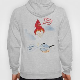 A Heated Argument Hoody