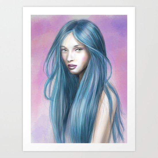 EmoPink Art Print