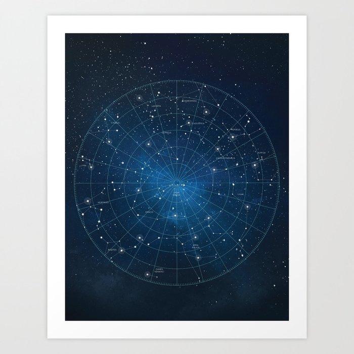 astronomy star charts - 700×700