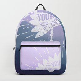 Your Vibe Attracts Your Tribe - Smoky Mountains 2 Backpack