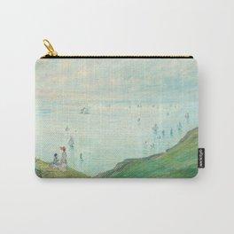 Claude Monet - Cliffs at Pourville Carry-All Pouch