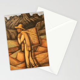 Alfredo Ramos Martinez (1871-1946), mexican farmer Stationery Cards