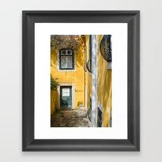 LISBON, House Framed Art Print