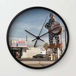 Liquor Store NoHo Wall Clock