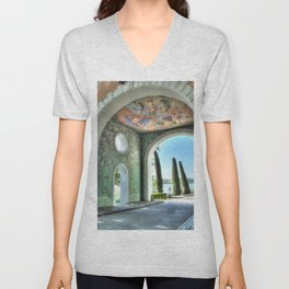 Archway to the Sea Unisex V-Neck
