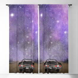 Baby Drives Away Blackout Curtain