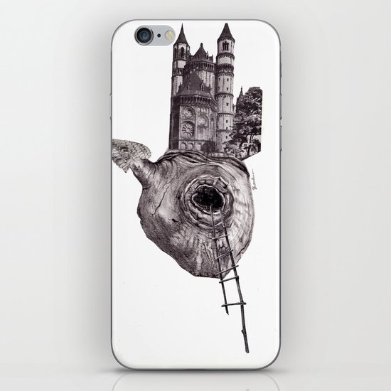 The Heart of The City iPhone & iPod Skin