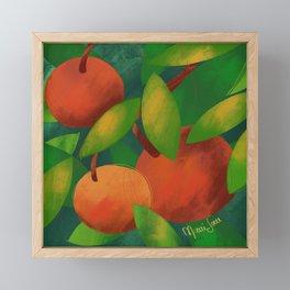 Tangerine Love Framed Mini Art Print
