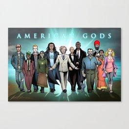 American Gods Canvas Print