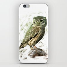 Olive Owl iPhone & iPod Skin