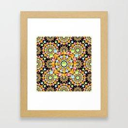 Circus Confetti Framed Art Print
