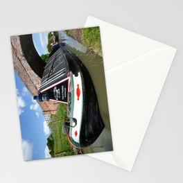 Narrow boat President Stationery Cards