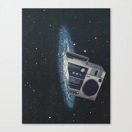 The Big Boom Canvas Print