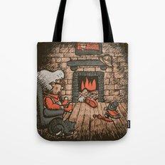 A Hard Winter Tote Bag