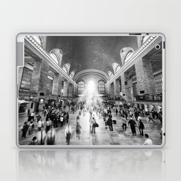Grand Central Daylight (classic black & white edition) Laptop & iPad Skin