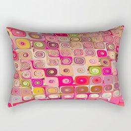 Cascade 7 Brago Mitchell Fine Fractal Art Rectangular Pillow