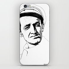 Woody Guthrie iPhone & iPod Skin