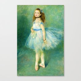 """Pierre-Auguste Renoir """"The dancer"""" Canvas Print"""